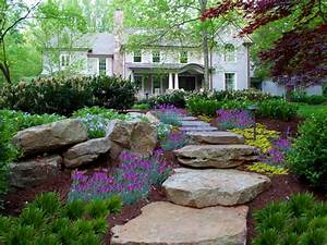pictures of garden pathways and walkways diy With 4 landscape design ideas for your beautiful garden