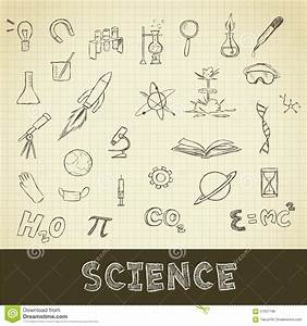 Science Stuff Stock Illustration