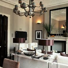 Gray And Purple Paint Color Design Ideas