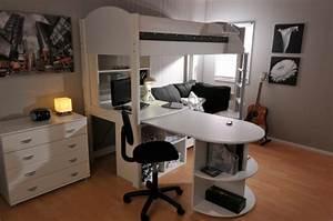 Schreibtisch Mit Schrank : hochbett selber bauen mehr als 100 ideen und bauanleitungen ~ Buech-reservation.com Haus und Dekorationen