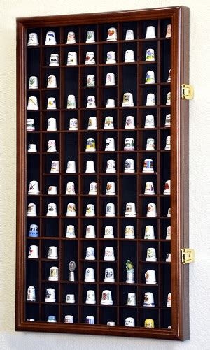 golf ball display cabinets australia 100 thimble miniatures display case cabinet holder wall