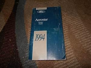 1994 Ford Aerostar Factory Original Owners Operators