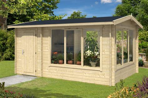 gartenhaus kombiniert gewaechshaus carport oder sauna