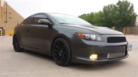 buy   scion tc turbocharged trd goodies hp