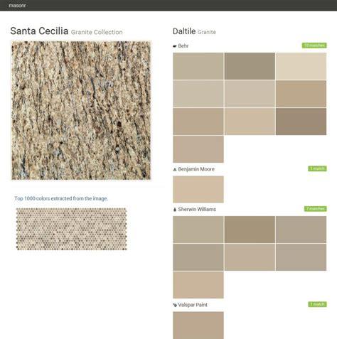 santa cecilia granite collection granite daltile behr