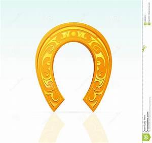 Lucky Horseshoe Stock Vector - Image: 46954161