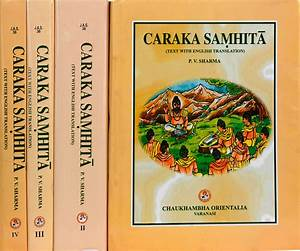 Caraka Samhita - 4 Volumes