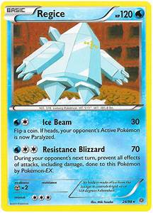 Regice - Ancient Origins #24 Pokemon Card