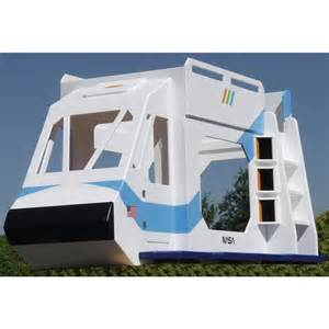 space shuttle theme bunk bed