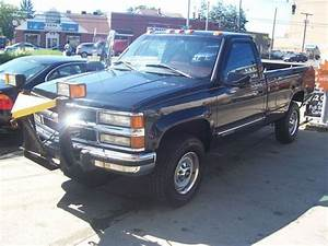 Sell Used 1995 Chevy 4x4 2500 6 5 Turbo Diesel Fisher Snow