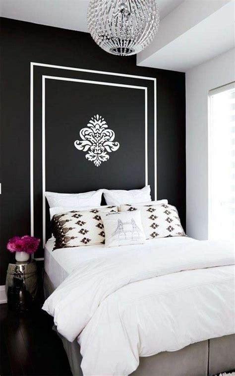 black  white bedroom interior design ideas white