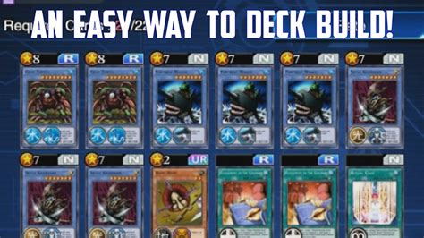 yugioh deck duel links how to make a deck yu gi oh duel links