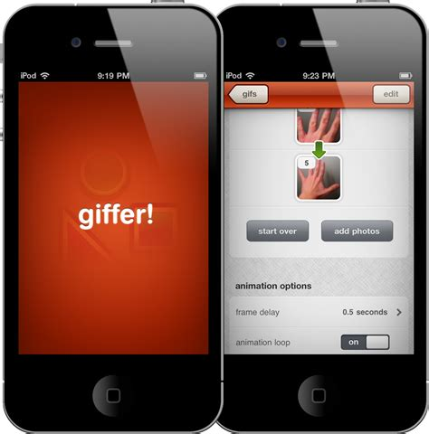 make a gif on iphone make gifs from your iphone with giffer macstories