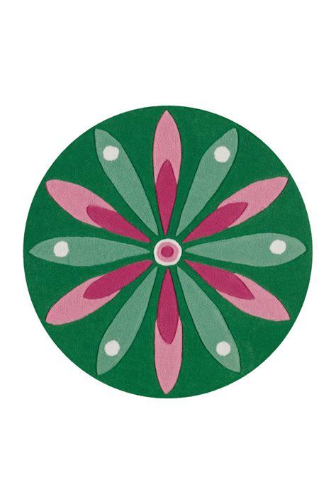 teppich rund 100 216 100 teppich rund 4184 arte espina dunkelgr 252 n rosa