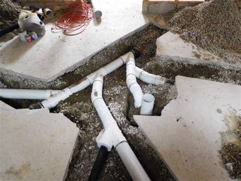 basement dig  maplewood plumbing