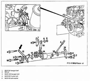 1988 Mercedes 300e Serpentine Belt Diagram  I Need To Know How To Release The Tinsioner So That