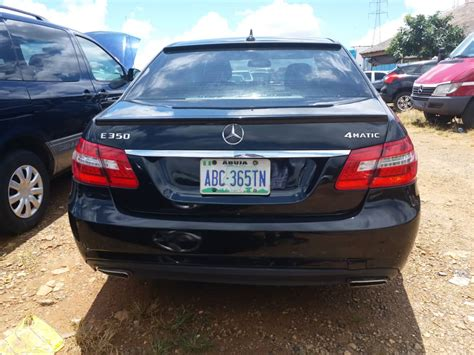 Any body work requested by the customer would be an additional cost. Neatly Used 2010 Mercedes Benz E350 4matic (kaduna)SOLD!! - Autos - Nigeria