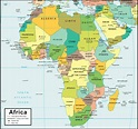 Africa Map   People, Geography, & Facts