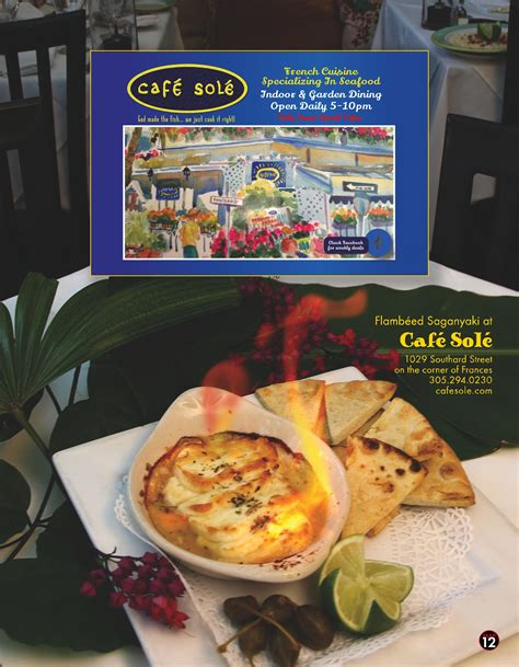sole cuisine best key restaurant menus key florida best