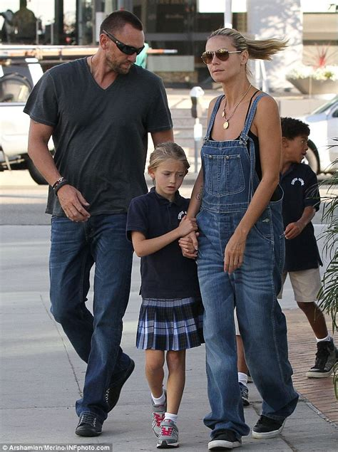 Overall Michele heidi klum throws on dungarees the day after that emmys