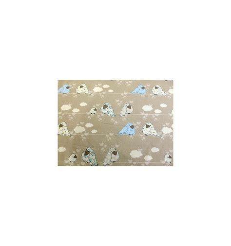 tissu pour chambre bébé tissu bébé garçon bleu tissus décoration chambre enfant