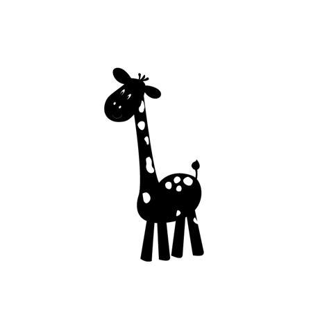 chambre la girafe sticker de girafe pour enfant thème jungle savane