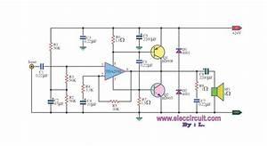 Ouput Voltage Of Power Amplifier Tda2030
