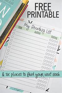 Free Printable Reading List & How to Find Great Books For ...