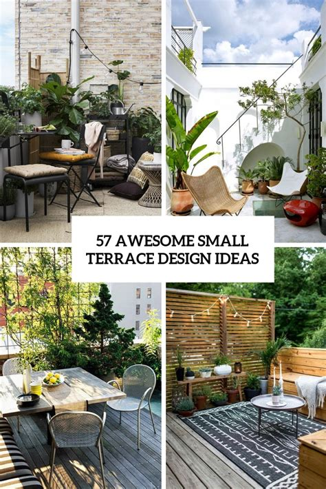Decorating Ideas Terrace by 57 Awesome Small Terrace Design Ideas Digsdigs