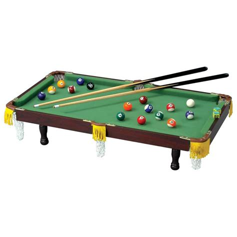 tabletop pool table full size club fun table top miniature pool table sppt compact