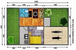 51  Sketsa Denah Rumah Minimalis 1 Lantai  U0026 2 Lantai