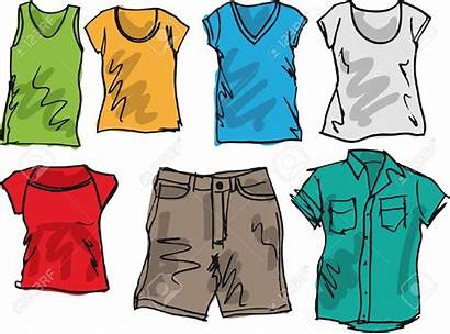 Summer Clothing Jeans Shirt Clipart Pants Clothes
