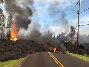 Hawaii Residents on Big Island Face Triple Threat: Lava ...