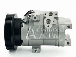 New Ac A  C Compressor Fits  1999 2000 2001 2002 2003 2004 Honda Odyssey V6 3 5l