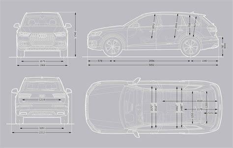 Audi Q7 Interior Dimensions audi q7 audi uk