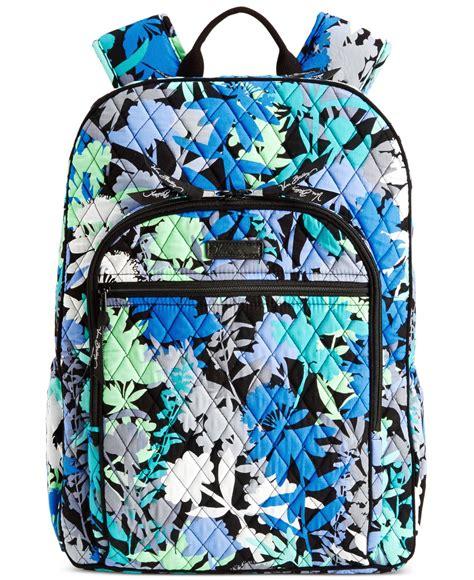 lyst vera bradley campus backpack  blue