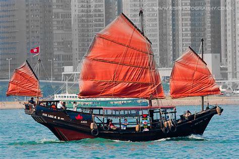 Sailing Boat Hong Kong by Photo