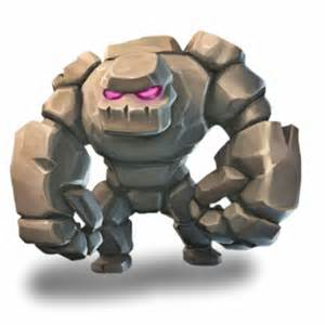 Golem Clash of Clans Characters
