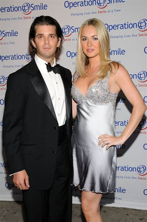 trump donald jr vanessa worth gala arrivals operation 5th smile annual actress wife larger richest zimbio