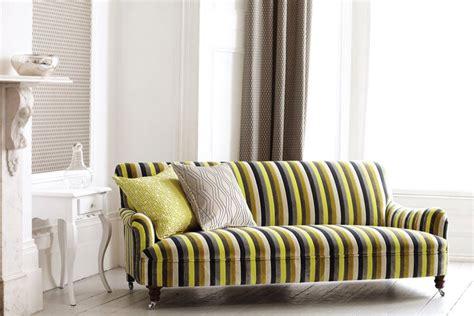 stoffe per tappezzeria tessuti per divani a righe monocolore o ikea i nostri