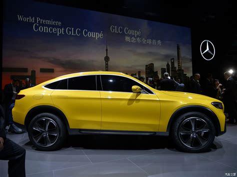 Mercedes Glc Coupe Concept Auto Shanghai Live