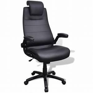 Acheter Chaise Pivotante Rglable Avec Accoudoir En Cuir