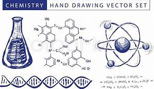 Chemistry Hand Drawing Vector Set