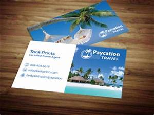Paycation business card 4 tank prints for Paycation business cards