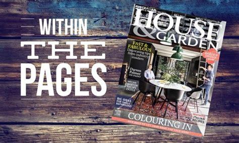 interior design magazines australian house garden june 2015