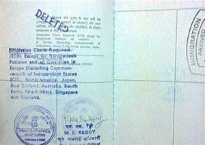 ecr issue in my passport india travel forum indiamikecom With passport documents ecr