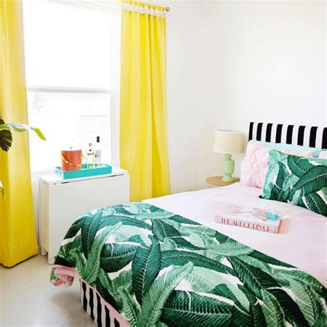 hawaiian bedroom decor all in 30 stylish and timeless tropical leaf décor ideas digsdigs
