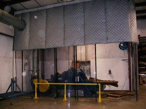 industrial sound panels akon curtain and dividers