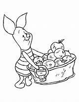 Pooh Winnie Coloring Pages Piglet Disney Fall Friends Apple Thanksgiving Christmas Clipart Eeyore Sheets Printable Adults Poeh Backgrounds Para Colorear sketch template