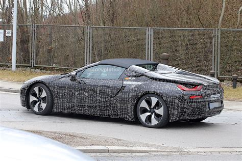 bmw i8 2018 bmw i8 spyder prototype spied everything looks ready